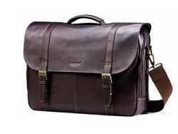 Samsonite������ Colombian Leather Flapover Case 17�縴����Ƥ���İ� $76.99