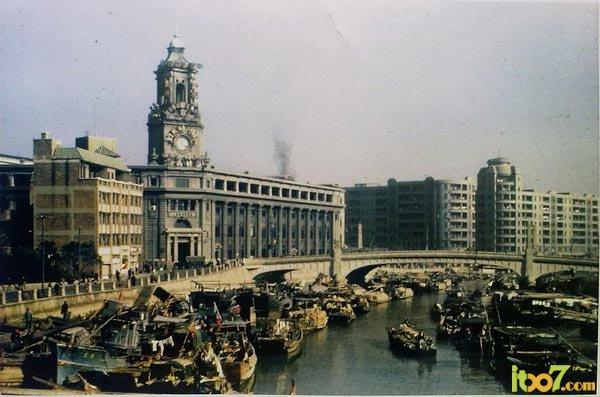 旧中国彩色照片_