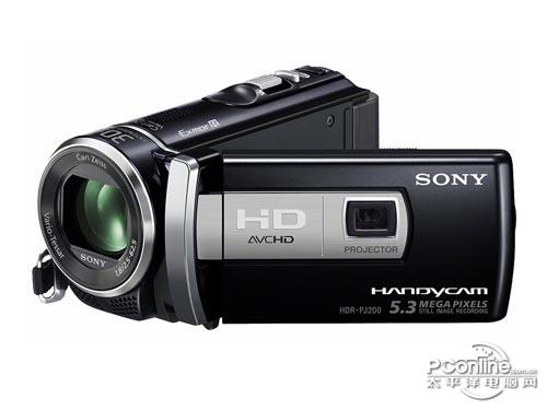 支持25倍光学变焦 索尼PJ200E特惠2200