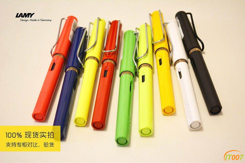 小雨商城 海淘现货 儿童节礼物精选,凌美(LAMY)狩猎者钢笔现货四件套280包邮