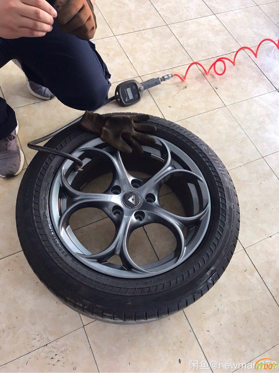 出十代思域轮毂轮胎