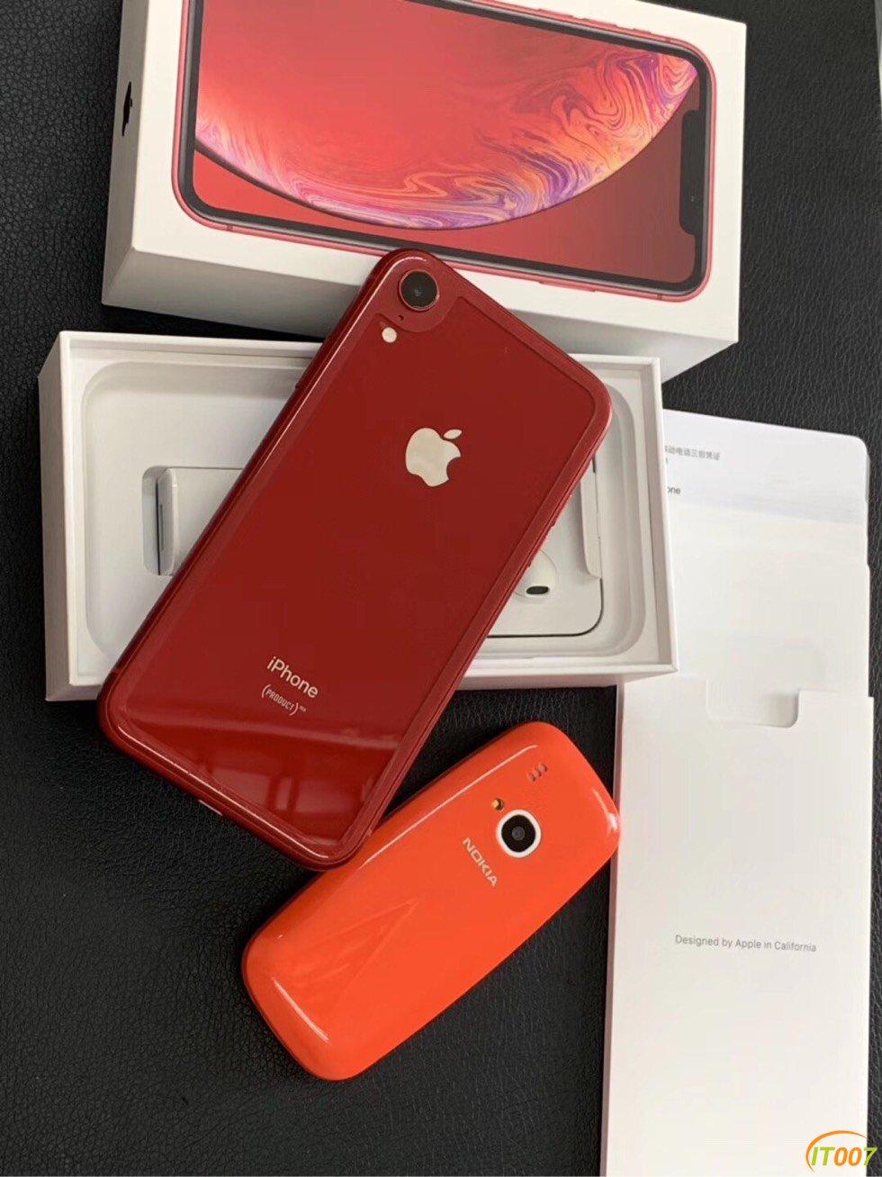 iPhone xr 128G 国行全网通 双卡 成色准新 原装配件齐 整机前后贴膜