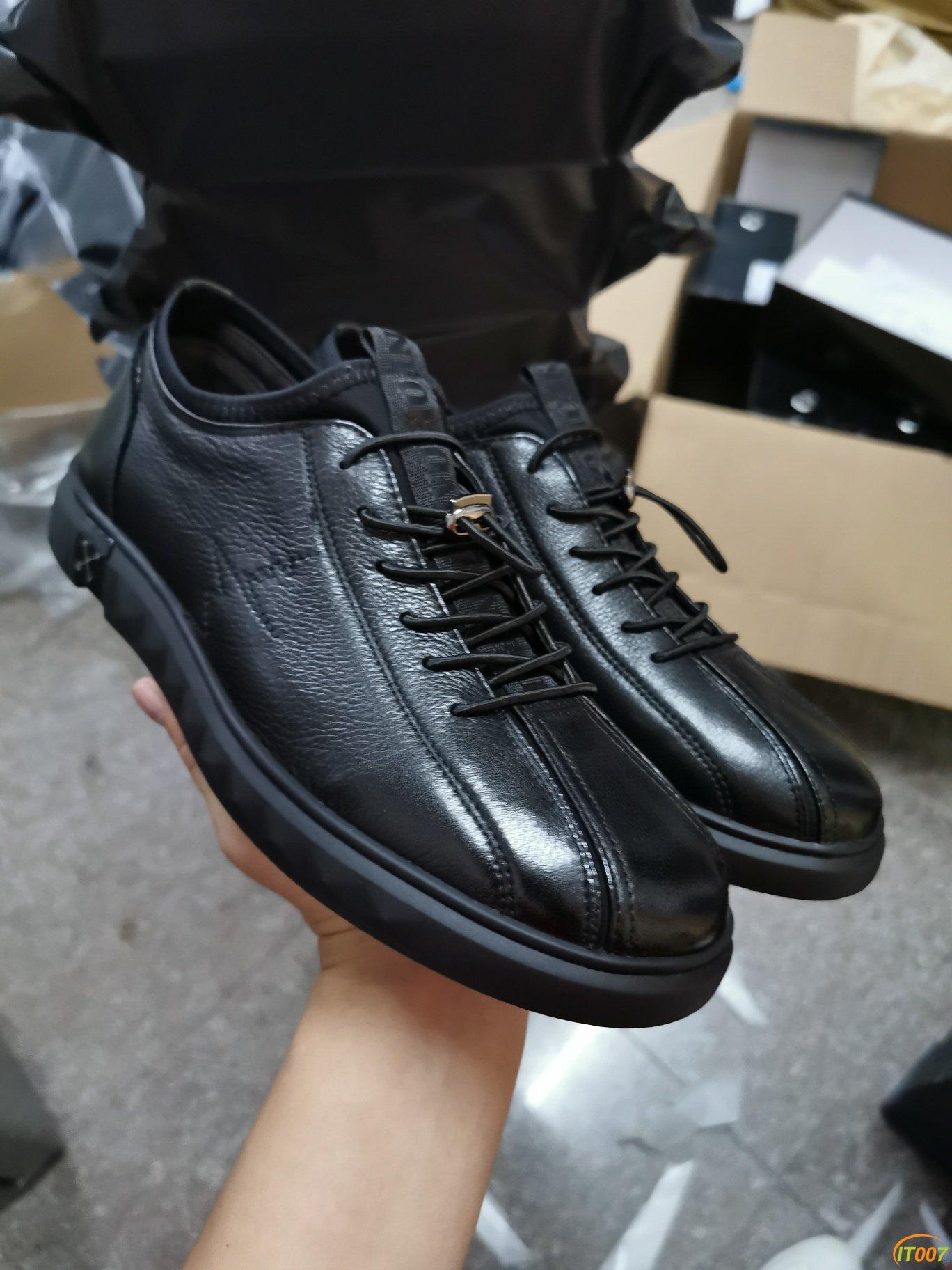 全部实拍,175出金利来正品皮鞋