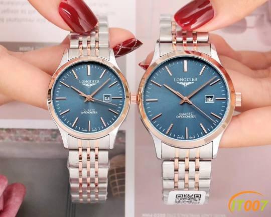 爆款浪琴情侣手表!全新复刻,价格实惠
