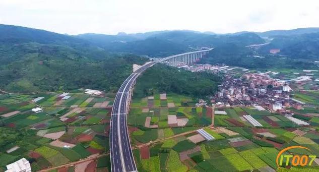 美景在路上!江通高速、昆明绕城东南段通车-6.jpg