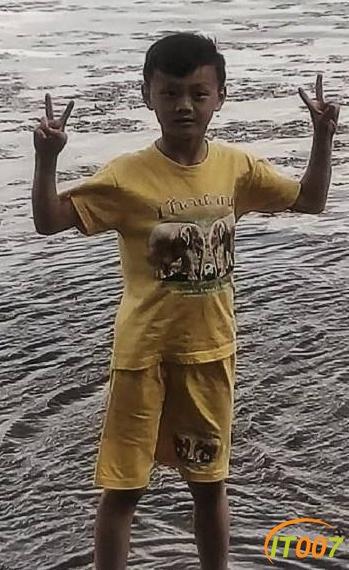五华区9岁男孩不慎走失 知情人士可与警方联系-1.jpg
