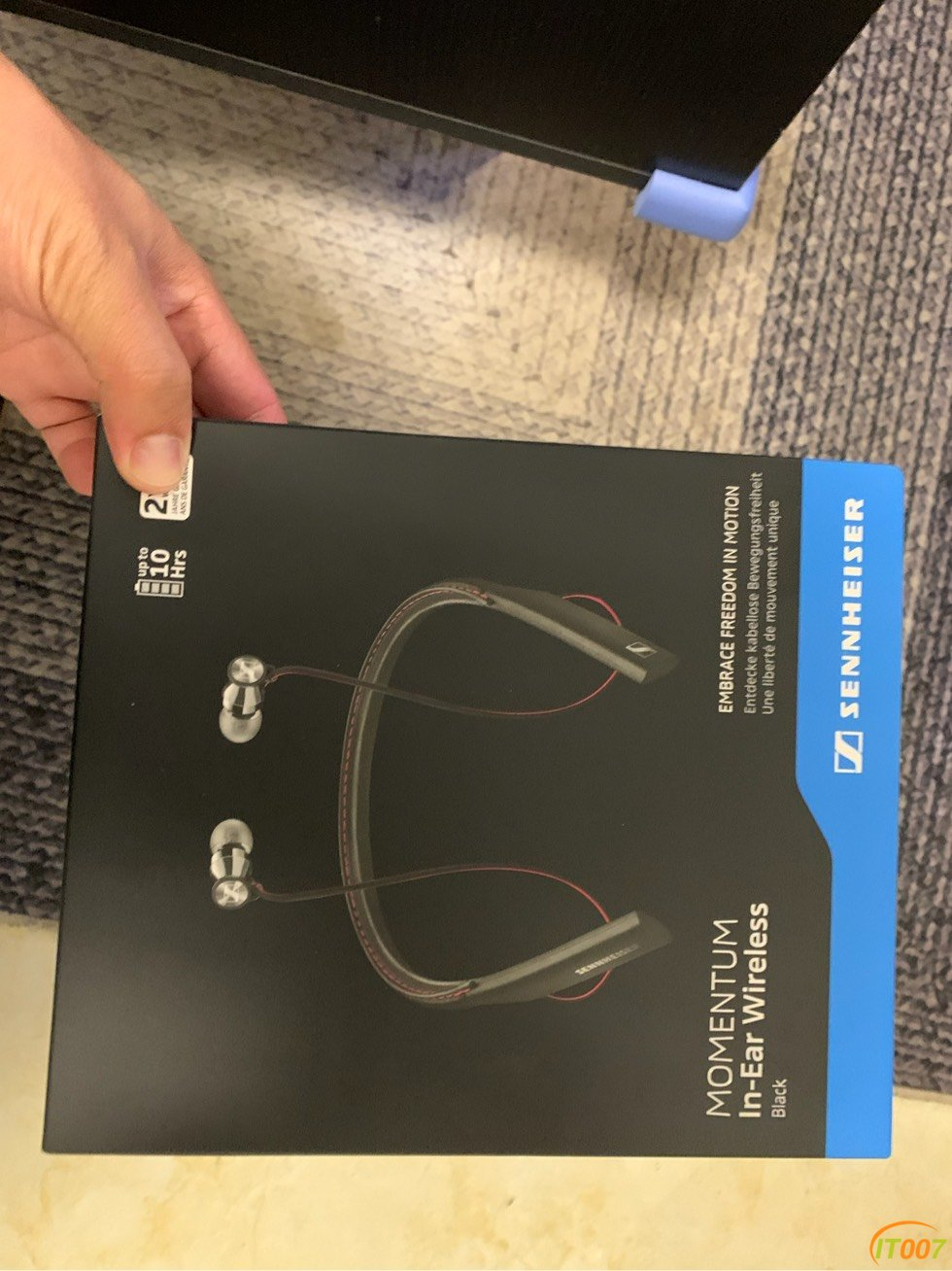 森海塞尔(Sennheiser 馒头 颈戴式蓝牙运动耳机