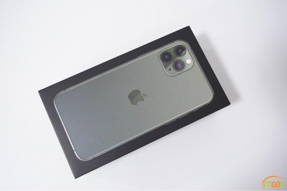 苹果iPhone11 Pro 绿色512G