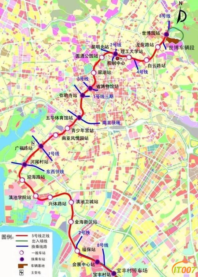 地铁5号线22个站点确定!昆明交通大爆发-5.jpg