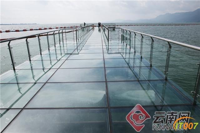 昆明海埂公园添新景:天水一色玻璃栈道-4.jpg