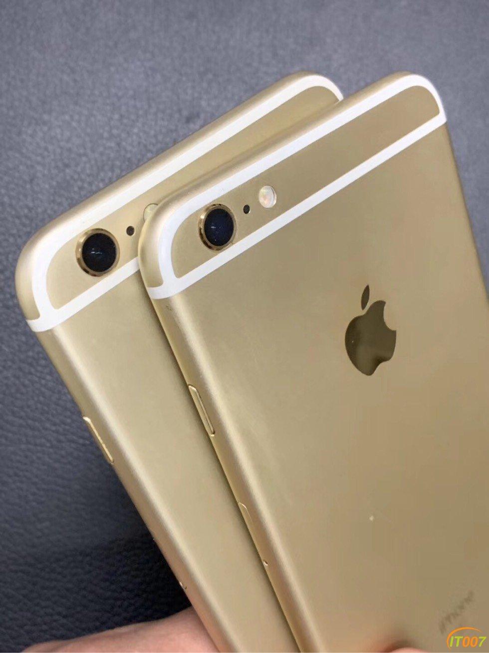 出兩臺iPhone6splus 金色 國行全網95新