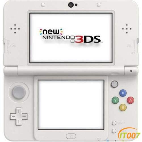 收个NEW3DS新小3白色自己玩有的来来来!!
