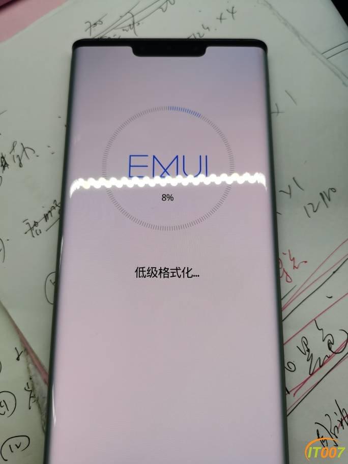 华为mate30pro 4G版8+256G。成色充新3550出。