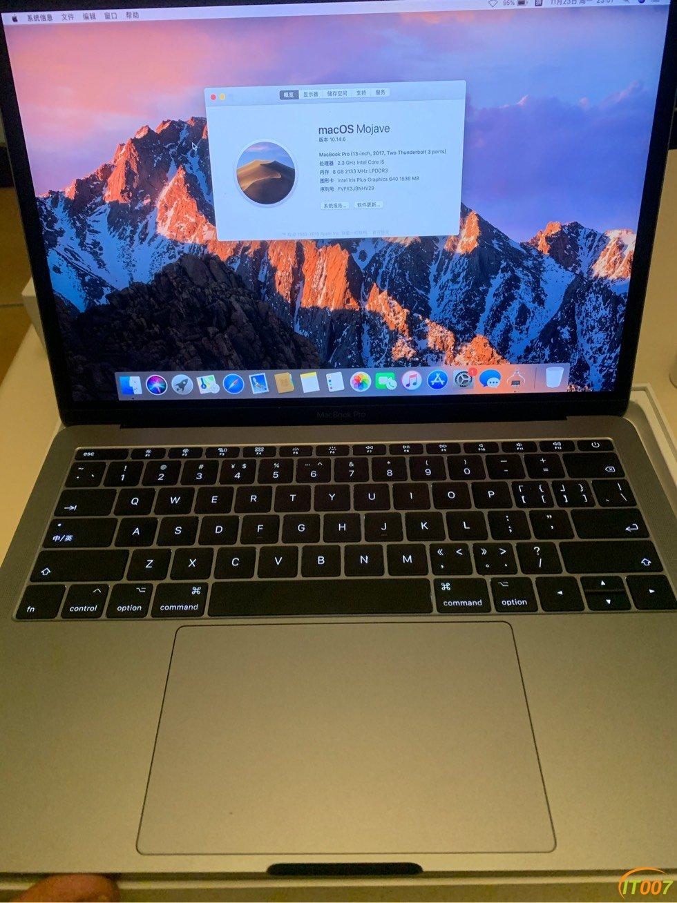 MacBook Pro 8256 18年 5xxx