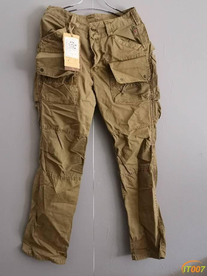 1元起拍原价198的户外裤子,31码,穿起来十分帅