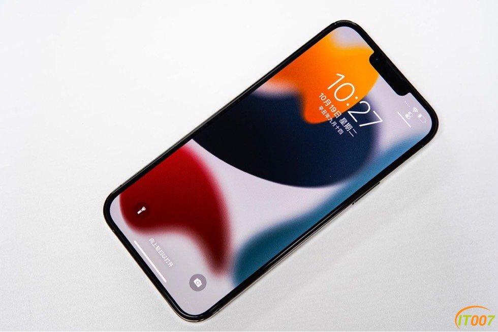 苹果 iPhone 13 Pro Max石墨色256