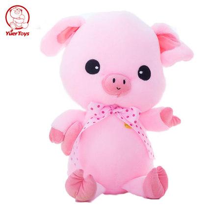 可爱毛绒玩具粉色小猪公仔