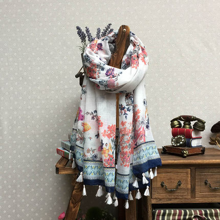 神秘女孩新款韩版女士围巾