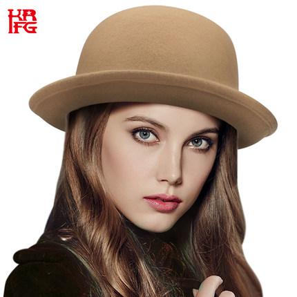秋冬女士亲子礼帽