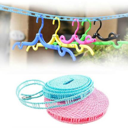 便携户外防滑晾衣绳5米
