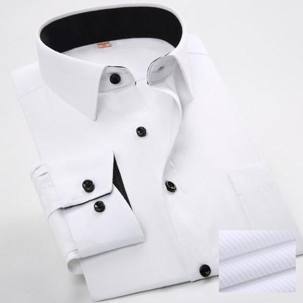男士春季职业商务衬衫
