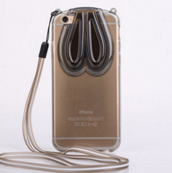 iPhone 5/5s/SE 兔耳支架手机壳 iPhone 5/5s/SE 兔耳支架手机壳