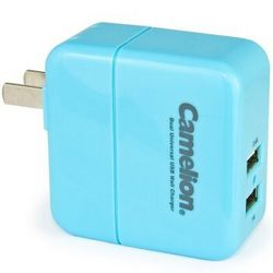 Camelion 飞狮 AD5028 3.4A 双USB接口 充电器