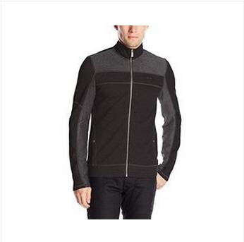限S码:Calvin Klein L/S Full Zip 男款运动外套