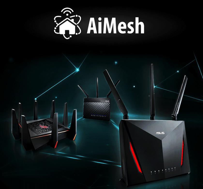 AiMesh——低成本搭建Mesh网络的黑科技