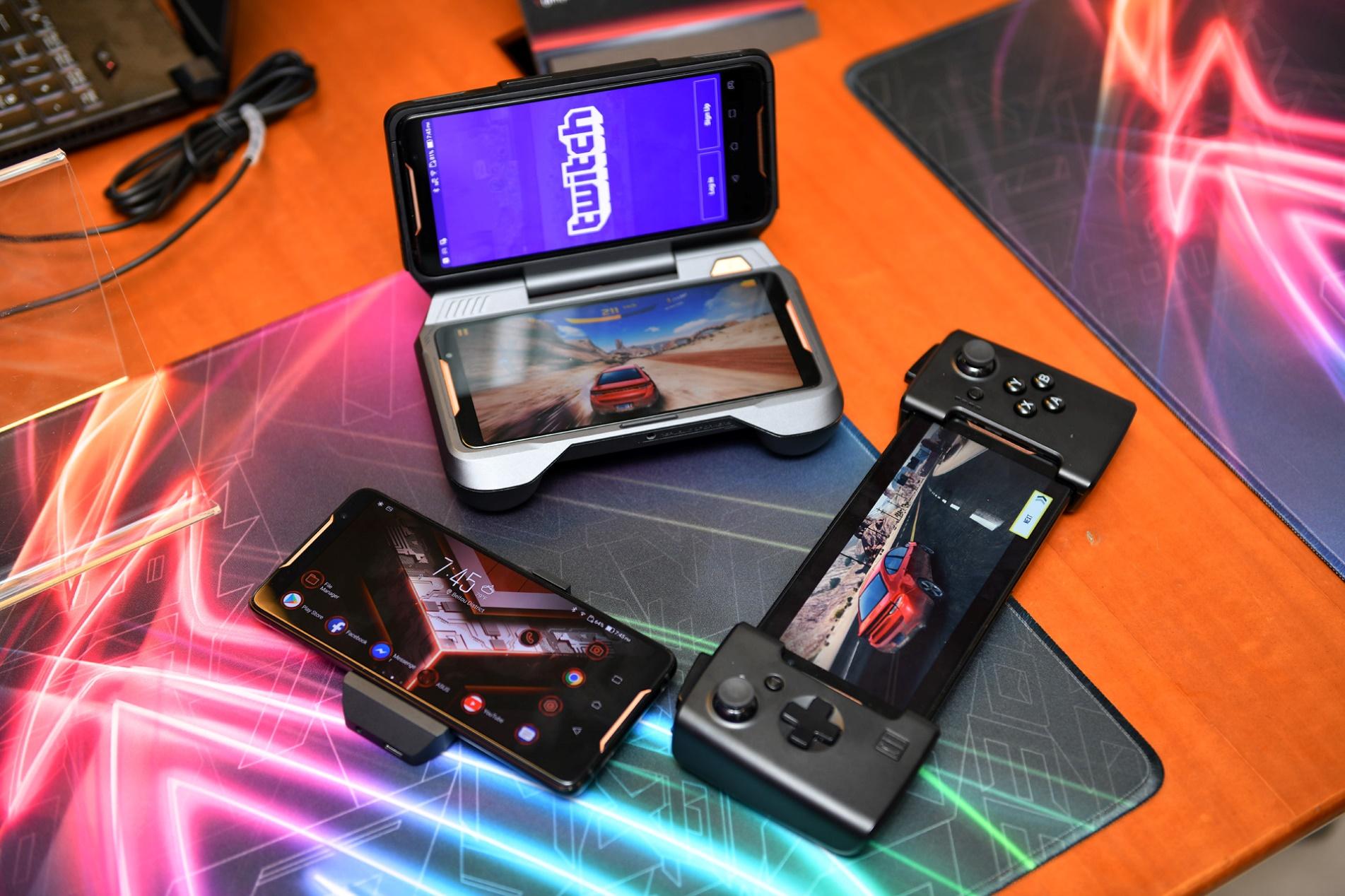 尽显电竞属性 ROG游戏手机荣耀登场
