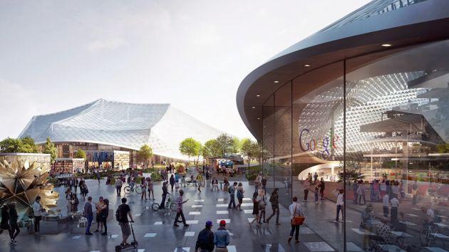 谷歌公布第二总部最新计划:拟扩大园区面积