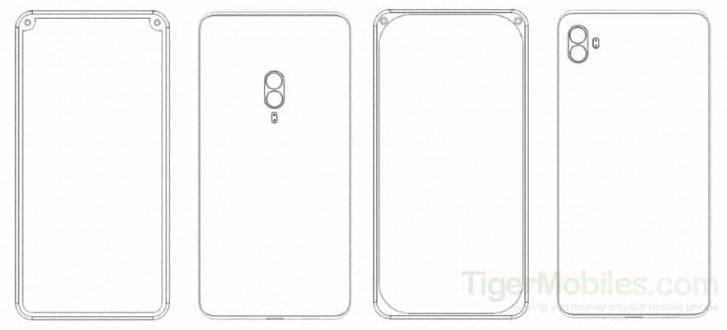 小米全新手机专利曝光:前置双摄位于设备边框两侧角落里