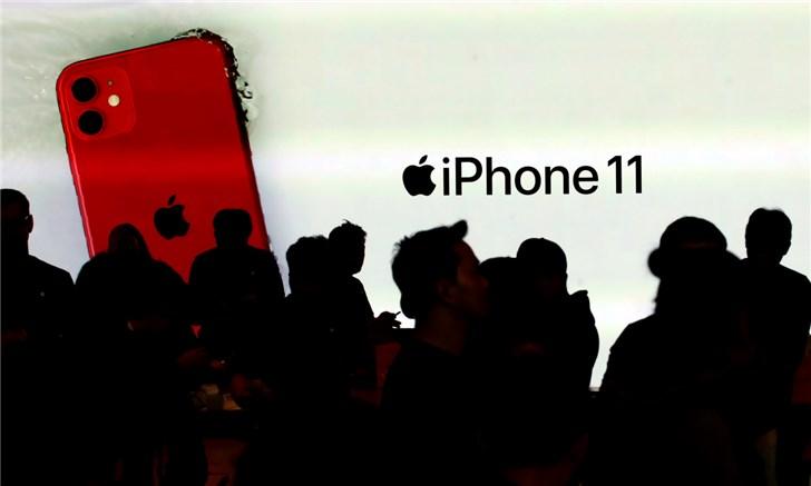苹果iPhone 11系列已在韩国正式开售,第一天卖出约13万部
