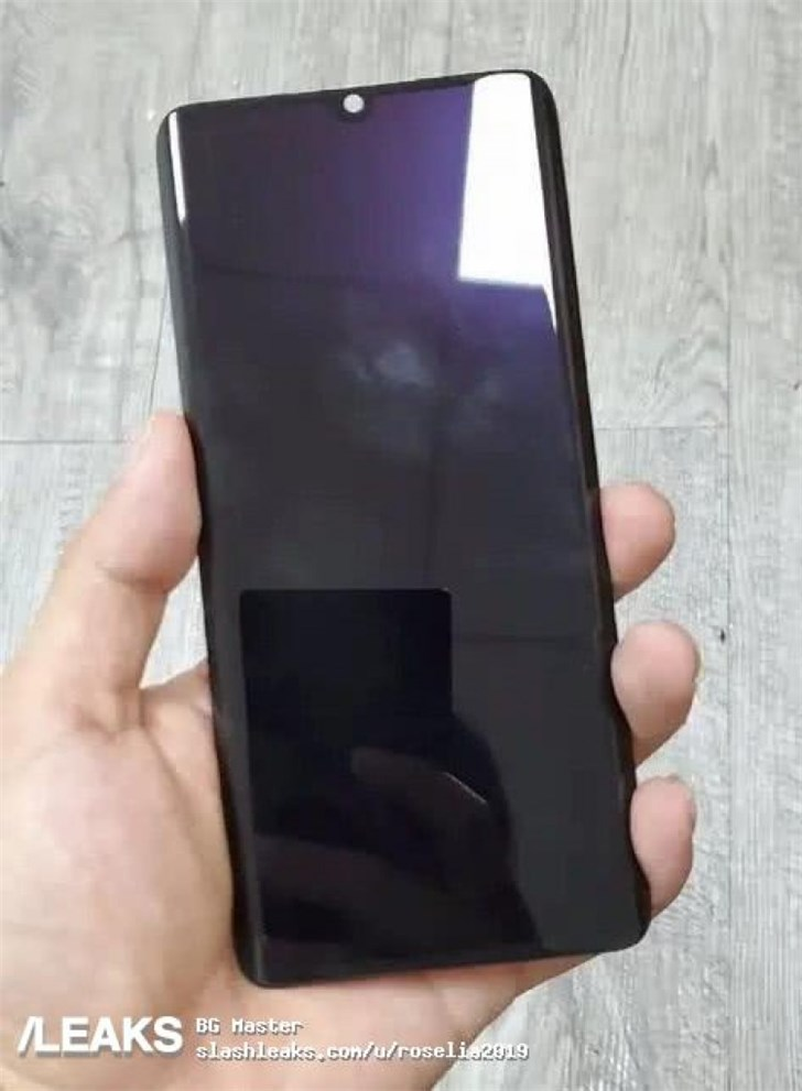 疑似小米CC9 Pro前面板曝光:水滴曲面屏设计