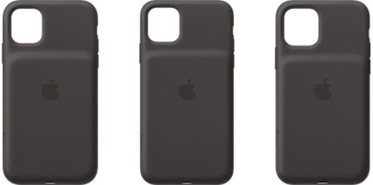 苹果新款iPhone 11/Pro/Pro Max智能电池壳外观曝光