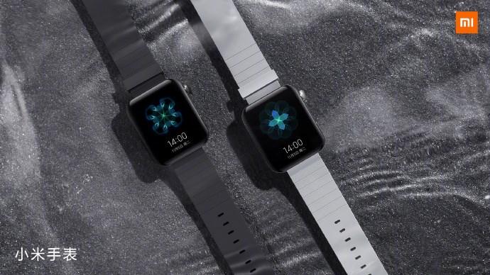 小米手表外观公布:方形表盘,黑银两色