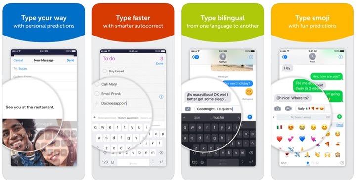 """微软SwiftKey输入法iOS版更新:新增语音输入及GIF""""热搜""""功能"""