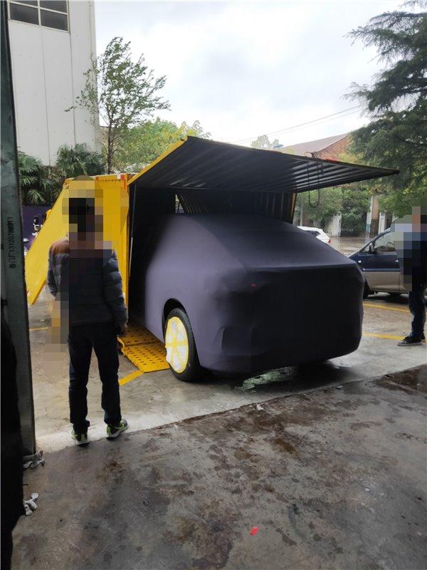 蔚来的第三款新车,谍照首次曝光后的猜想