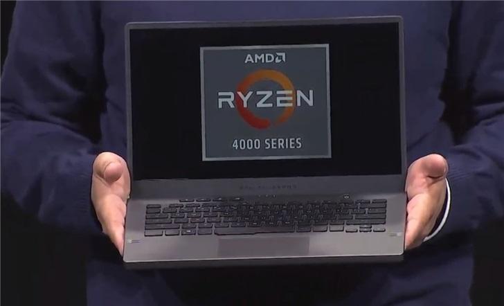 华硕笔记本首发AMD 7nm H处理器,A面特效玩出花