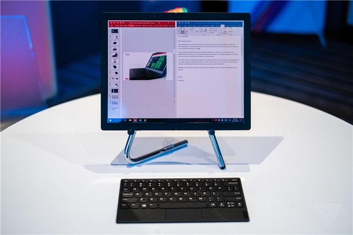 """CES 2020:联想发布ThinkPad X1 Fold,没小红点,""""弯""""了"""