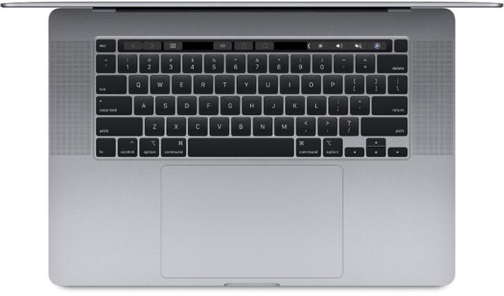 苹果Mac新品现身数据库,会是采用剪刀键盘的全新MacBook Pro么?