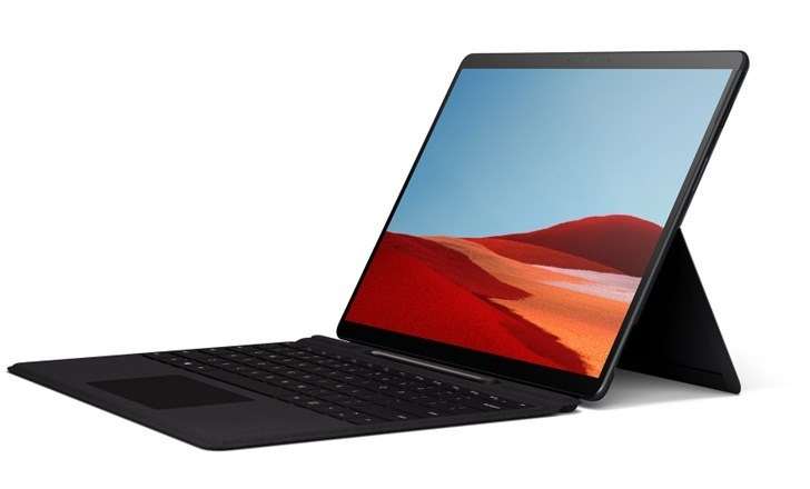 Surface Pro X 3DMark跑分:微软SQ1性能接近i7-7Y75
