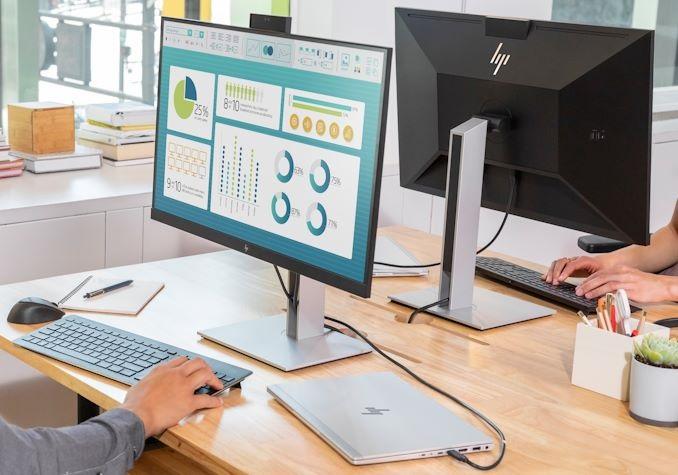 惠普推出新款显示器:USB-C接口,100瓦供电输出