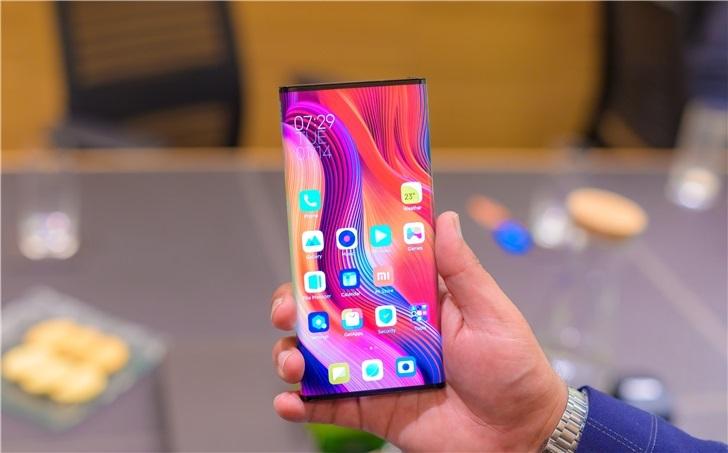 小米MIX Alpha环绕屏手机出现在印度官网,但可能不卖