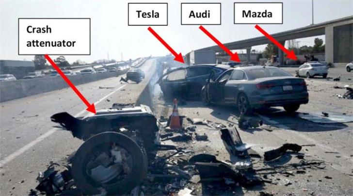 又一特斯拉致命事故调查报告出炉:Autopilot也不完全可靠