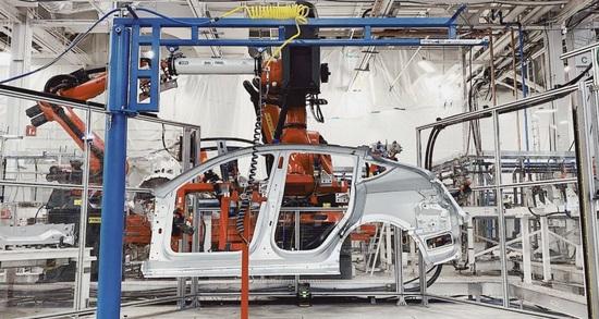 特斯拉德国工厂预计周产Model Y达到1万辆