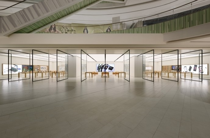 苹果中国过半零售店已重新开放,营业时间缩短