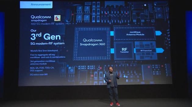 高通:70多部5G手机搭载骁龙865,X60基带手机明年初上市