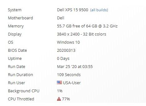 戴尔顶配版 XPS 15 9500 曝光:i9-10980HK,无独显