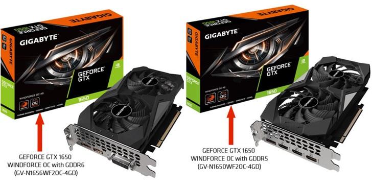 英伟达推出GDDR6显存版GTX 1650显卡,GPU频率降低